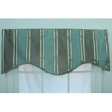 "Euro Stripe 50"" Curtain Valance"