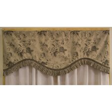 <strong>RLF Home</strong> Shabby Elegance Cotton Curtain Valance