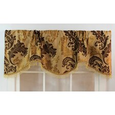 <strong>RLF Home</strong> Ella Rod Pocket Scalloped Curtain Valance