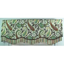 <strong>RLF Home</strong> Gloria Glory Cotton Curtain Valance
