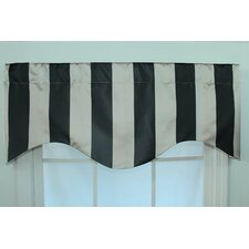 Actual Stripe Shaped Curtain Valance