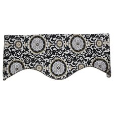Celestial Shaped Cotton Curtain Valance
