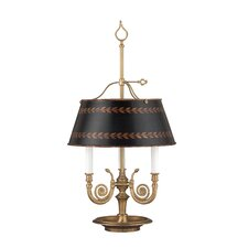 "30.5"" H Table Lamp with Empire Shade"