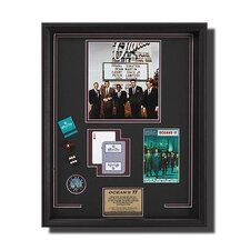 'Oceans Eleven' Casino Themed Framed Memorabilia Shadow Box