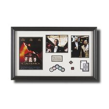 Large Framed 'Casino' Memorabilia