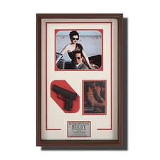 <strong>Legendary Art</strong> Rectangular Framed 'Bugsy' Memorabilia
