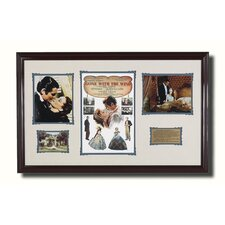 <strong>Legendary Art</strong> Framed 'Gone With The Wind' Memorabilia