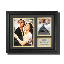'Titanic' Movie Framed Memorabilia