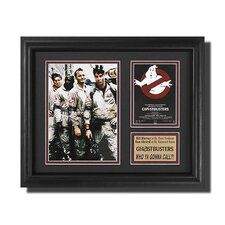 'The Ghostbusters' Movie Framed Memorabilia