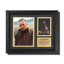 'Unforgiven' Movie Framed Memorabilia