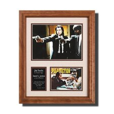 'Pulp Fiction' Movie Framed Memorabilia