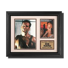'Die Hard' Movie Framed Memorabilia