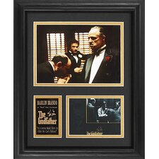 Tall 'The Godfather' Movie Framed Memorabilia