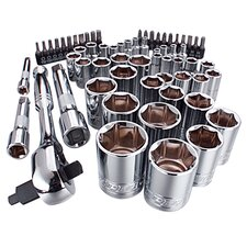 <strong>Viper Tool Storage</strong> 63 Piece Ratchet and Socket Set