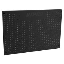 Black Steel Peg Board