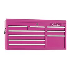 "<strong>The Original Pink Box</strong> 41"" 9 Drawer Top Chest"