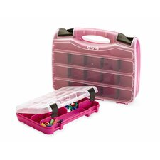 <strong>The Original Pink Box</strong> 2 Piece Storage Case Set