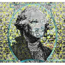 Figurative Cubed George by Jordan Carlyle Graphic Art
