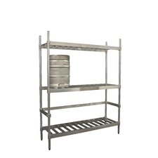 3 Shelf Keg Shelving Unit