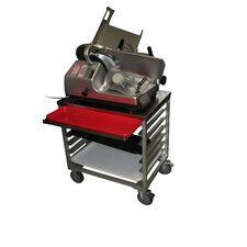 Slicer Mixer Scale Cart with Pan Slides
