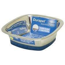 <strong>Durapet</strong> DuraPet Square Dog Bowl