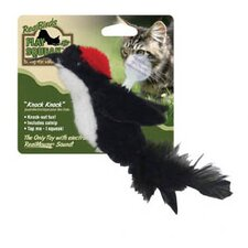 <strong>Play-N-Squeak</strong> RealBirds Knock-Knock Cat Toy