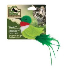 <strong>Play-N-Squeak</strong> RealBirds Buzz Off Cat Toy