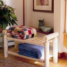 Quilt Cedar Entryway Bench