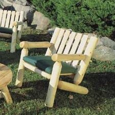 <strong>Rustic Natural Cedar Furniture</strong> Lounge Armchair