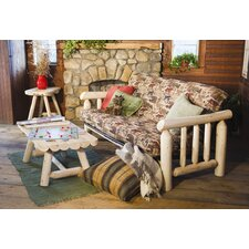 <strong>Rustic Natural Cedar Furniture</strong> Log Futon Frame