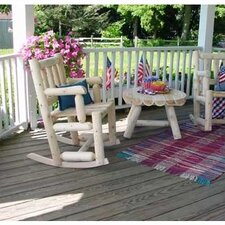 <strong>Rustic Natural Cedar Furniture</strong> Indoor / Outdoor Rocking Chair