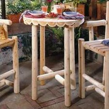 <strong>Rustic Natural Cedar Furniture</strong> Bistro Table