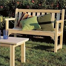 <strong>Rustic Natural Cedar Furniture</strong> English Wood Garden Bench