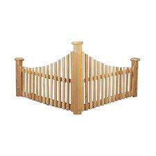 2.5' x 4' Corner Fence