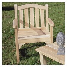 <strong>Rustic Natural Cedar Furniture</strong> Camel Back Adirondack Chair
