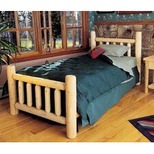<strong>Rustic Natural Cedar Furniture</strong> Rustic Slat Headboard