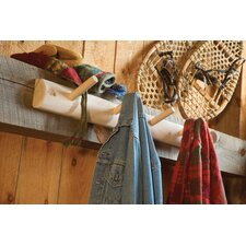 <strong>Rustic Natural Cedar Furniture</strong> 3' Coat Hanger