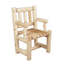 <strong>Rustic Natural Cedar Furniture</strong> Captain's Dining Arm Chair
