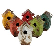 Assortment Decorative Bird Feeder (Set of 6)