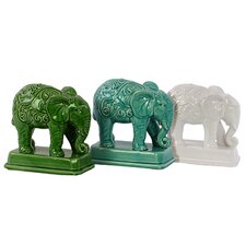 Ceramic Elephant (Set of 3)