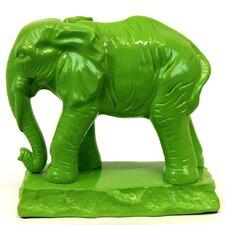 Ceramic Standing Elephant Statue