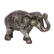 <strong>Urban Trends</strong> Home and Garden Accents Elephant Figurine