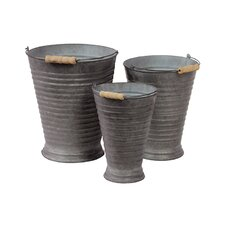 Metal Container Set of Three