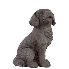 Polystone Fiber Stone Dog