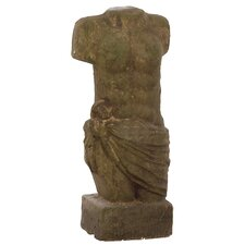 Stoneware Man Bust