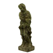 Stoneware Lady Statue