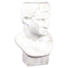 Terracotta Man Bust