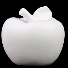 Porcelain Apple Figurine