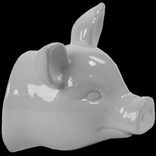 Ceramic Pig Head Wall De´cor