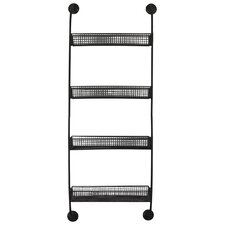 Metal Wall Shelf with 4 Tiers